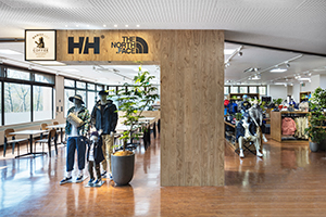 THE NORTH FACE/HELLEY HANSEN